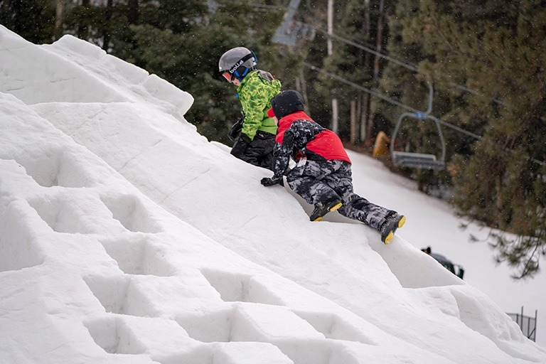 Skiing with Power Kids